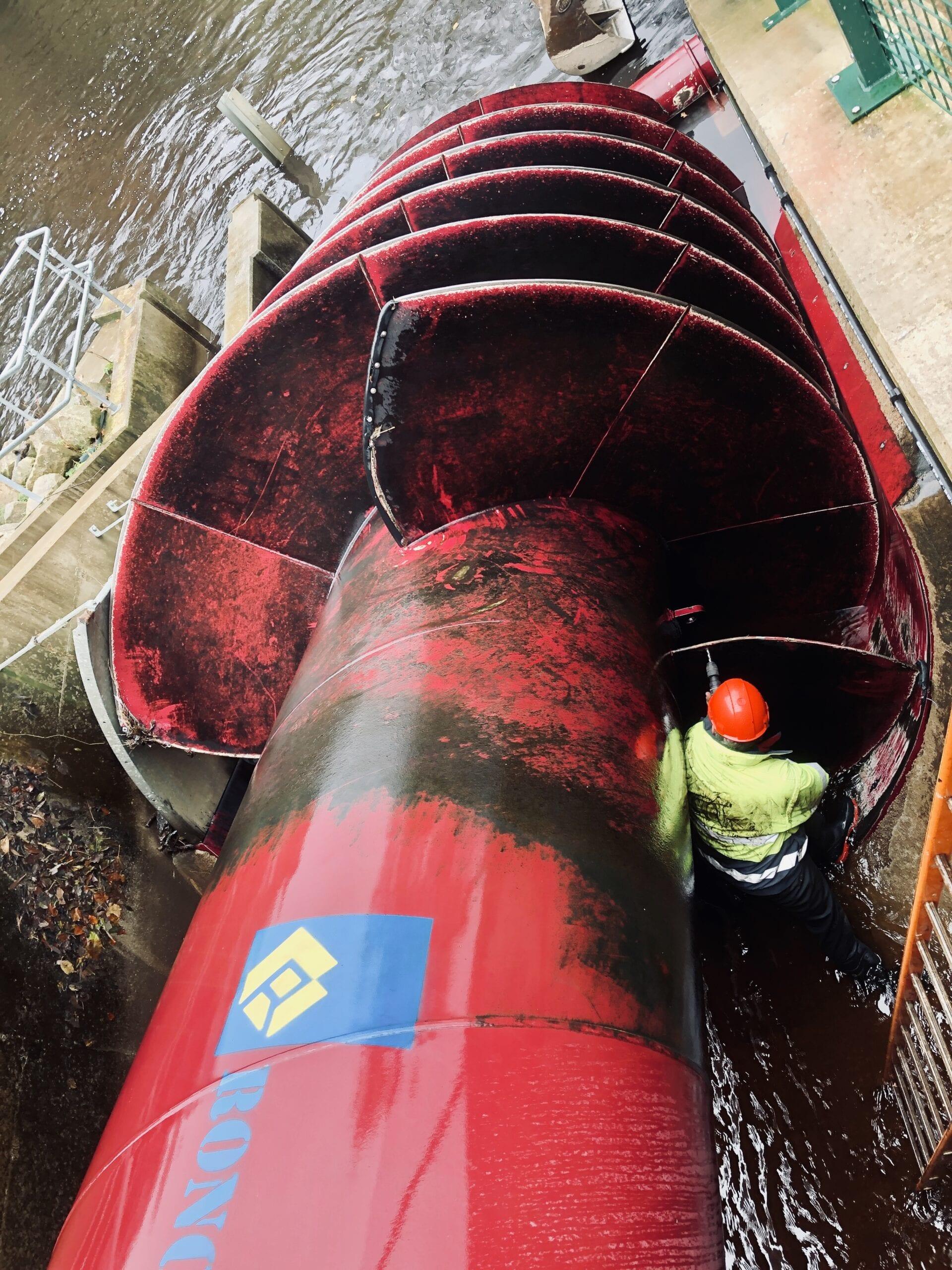 hydro turbine maintenance
